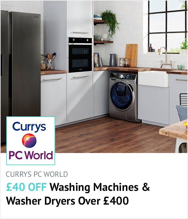 Currys PC World homepage banner