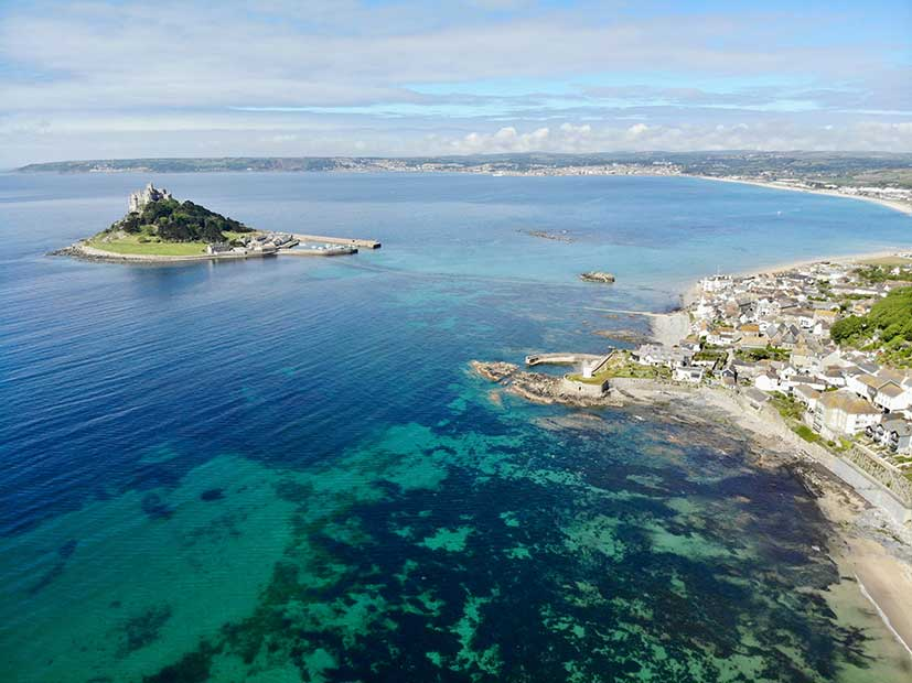 Top UK Holiday Destinations - St Michael's Mount, Cornwall