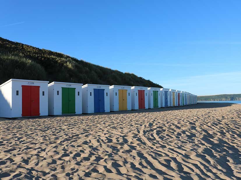 Top UK Holiday Destinations - Woolacombe, Devon