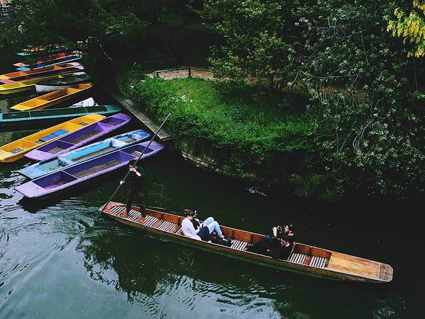 Top UK Holiday Destinations - River Cherwell, Oxford