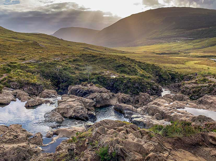 Top UK Holiday Destinations - Fairy Pools, Glenbrittle