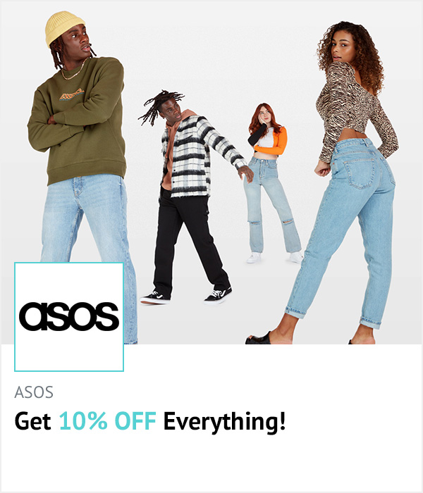 ASOS homepage banner