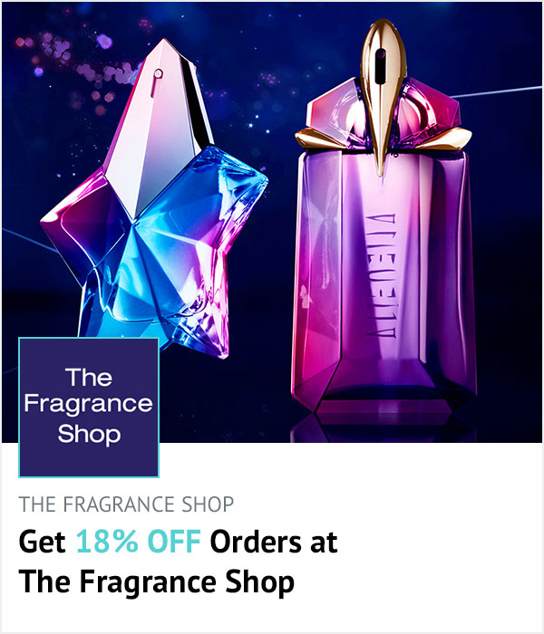 The Fragrance Shop homepage banner